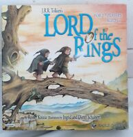 Lord of the Rings board game. J.R.R. Tolkien. Eagle games. 2-5 Players.