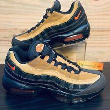 Nike Air Max 95 Essential Mens Size 10 Black Clay Wheat NBT Retro AT9865 014 New