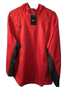 Men's Red Nike Running Windbreaker Size XL