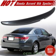 STOCK USA Painted Honda Accord 8th Sedan OE Trunk Spoiler 12 #NH737M EX LX-P