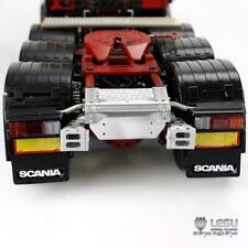 LESU Hazlo tú mismo TAMIYA Scania 1/14 RC Modelo Tractor Camión Remolque De Metal Base De Luz De La Cola