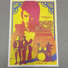 DAVID BOWIE ZIGGY STARDUST - CONCERT POSTER HAMMERSMITH ODEON LONDON 2ND JULY