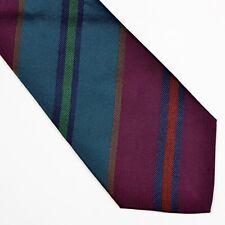 Altea Milano Krawatte Tie Made in Italy Seide Silk Streifen Stripes Grün Green