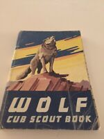 Vintage 1960 Wolf Cub Scout Book Boy Scouts of America BSA