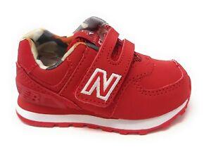 new balance 574 bambino rosso