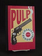 *Signed* Pulp #306 of 750 Bukowski, Charles
