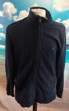 "Crew Clothing full zip blue Tracksuit Jacket. 22"" pit-to-pit, 28"" length, Large."