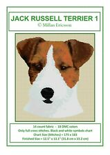 Jack Russell Terrier - Pattern/Chart - Pdf - Cross Stitch - No Material