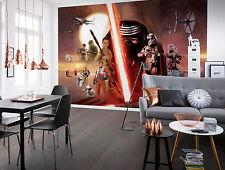 Komar Star Wars Ep7 The Force Awakens Collage Wallpaper Mural Vinyl Multi-colo
