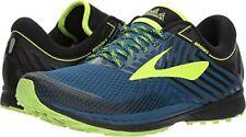 78fdbf479e874 Brooks Mens Mazama 2 Trail Running Shoes Blue Neon Green US Size 9.5 D