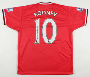 Wayne Rooney Signed Manchester United Jersey (Beckett COA)