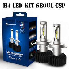 NEW H4 BI XENON LED KIT ULTRA POWERFUL 35W XENON WHITE 6000K SEOUL CSP LED KIT