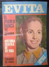 Colosos Del Pueblo  Magazine Eva Peron Evita Full Of Images 1948