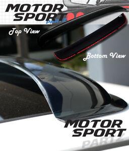 3mm Deflector Sunroof Sun Moon Roof Visor 1100mm 43.3 Inch For Full Size Vehicle