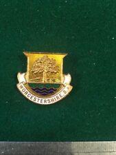 Lawn Bowls Enamel Badge Llanelli Bowling Club