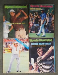Sports Illustrated Magazine Lot Of 4 Magazines All From The 1970's  Gary Players