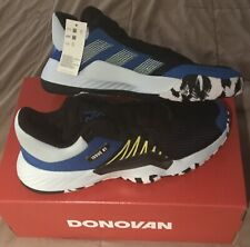 """ADIDAS """"D.O.N. ISSUE #1"""" MEN'S Basketball Shoes, SIZE 13, Black/Blue/Yellow, NEW"""