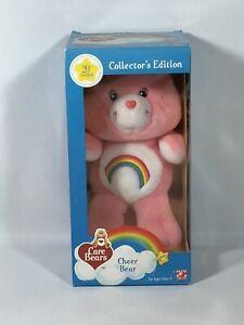 NEW IN BOX Care Bears 20th Anniversary Cheer Bear 10 inch