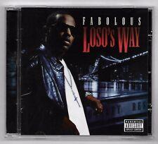 CD RAP AMERICAIN / FABOLOUS - LOSO'S WAY / ANNEE 2009 (16 TITRES)