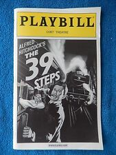 The 39 Steps - Cort Theatre Playbill w/Ticket - June 21st, 2008 - Cliff Saunders