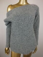 8PM JUMPER SWEATER TOP  - WOOL ALPACA - SMALL - MADE IN ITALY