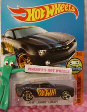 Case D 2016 i Hot Wheels CHEVY CAMARO CONCEPT #23✰Black/Red;Gold pr5✰DIGITAL