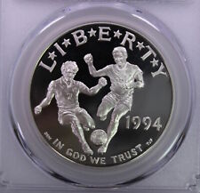 1994-S $1 World Cup, Pcgs Pr69Dcam Proof Coin