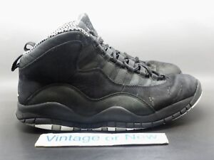 Air Jordan X 10 Stealth Retro 2012 sz 9