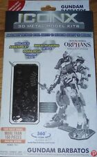 Gundam Barbatos Iconx 3D Laser Cut Metal Model Kit Fascinations Icx105