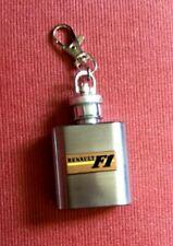 New listing RENAULT VINTAGE FORMULA 1 F1 KEY FOB DRINKS FLASK : CIRCA 1977 - UNUSED - RARE!.