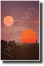 Tatooine - NEW Star Wars Planet Poster