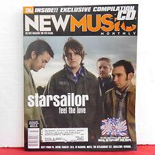 Starsailor CMJ New Music Magazine Muse Ed Harcourt Fu Manchu March/April 2002!!