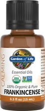 Organic Frankincense Essential Oil, Garden of Life, 0.5 oz