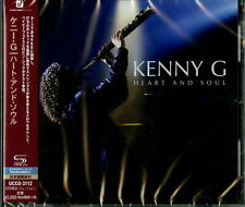KENNY G-HEART AND SOUL-JAPAN SHM-CD BONUS TRACK E25