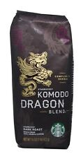 Starbucks - Roasted Whole Bean Coffee - 16 oz - Pack of 2 (Komodo Dragon Blend)