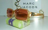 SVELTE VTG 1990's MARC JACOBS MJ 027 M3L UNISEX LOGO SUNGLASSES BOX #19 AO TF