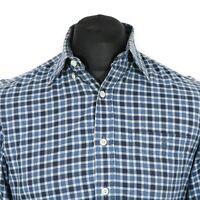 VGC GANT 'Heather Twill' Check Shirt | Men's S | Vintage Smart Casual Plaid