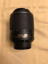 Nikon DX VR AF-S Nikkor 55-200mm 1:4.5-5.6 GII ED Lens NO RESERVE
