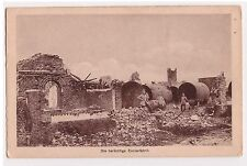 Die berüchtige Zuckerfabrik WW1 1917 Ruines Usine à sucre allemande Guerre 14-18