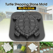 Molds Turtle Stepping Stone Concrete Mould ABS Tortoise for Harden Path Decor