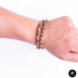 Kavak - Handmade Dense Yellow Cord Adjustable Women's Bracelet