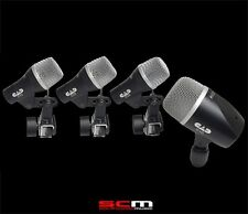 CAD STAGE4 4 Piece Drum Microphone Pack 2 x D29 Mics 1 x D19 & 1 x D10 Mic