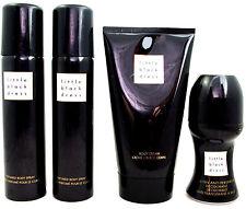 AVON LITTLE BLACK DRESS 2 x 75ml BODY SPRAY, 150ml BODY CREAM, 50ml Roll-On SALE
