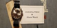 Rare Vintage Hamilton Vulcain Cricket Alarm Watch with Instructions