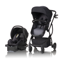 Single Baby Stroller 3 in 1 Travel System Child Safety Car Seat Infant Toddler