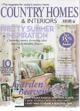 COUNTRY HOMES & INTERIORS MAGAZINE June 2010 Pretty Summer Inspiration AL