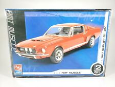 AMT Muscle 1967 Shelby GT 350 Ford Mustang 1/25 Model Kit - STARTED/BUILDER