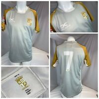 New Orleans NOLA Gold Rugby Jersey XL Men Gray Poly Major League YGI I0-132
