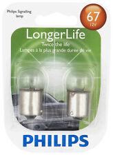 License Light Bulb-Longerlife - Twin Blister Pack Philips 67LLB2
