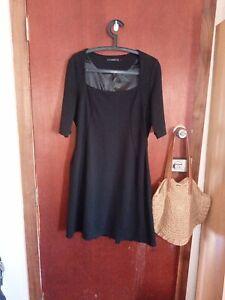 Events Women's Size L Black Dress